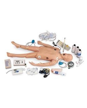 Çocuk İleri Yaşam Destek Mankeni, EKG Ritim Simülatörlü