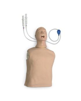 Yetişkin Yarım Beden CPR ve Entübasyon Mankeni, Laringospazm