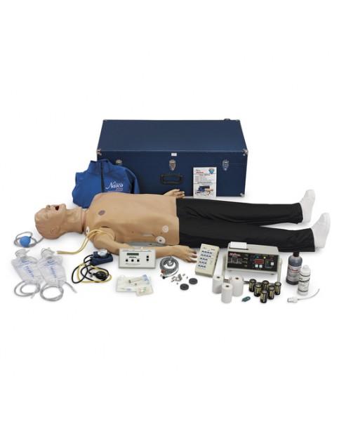 Yetişkin İleri Yaşam Destek Mankeni, EKG Ritim Simülatörü ve CPR İzleme Monitörlü