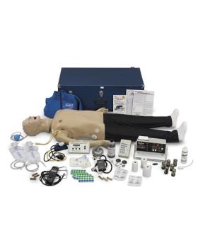 Yetişkin İleri Yaşam Destek ve Oskültasyon Mankeni, EKG Ritim Simülatörlü - CPR İzleme Monitörlü
