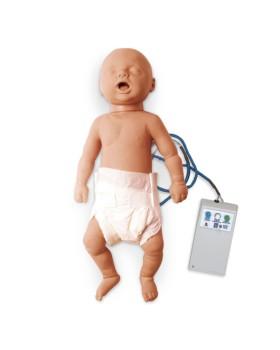 Bebek Tam Boy CPR Eğitim Mankeni, Işıklı Kontrol Panelli