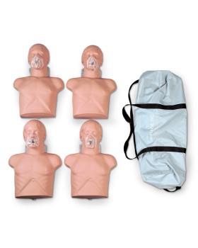 Ekonomik Sani Yetişkin Yarım Beden CPR Eğitim Maketi, 4'lü Paket