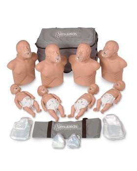Sani CPR Paket,  4 Yetişkin - 4 Bebek