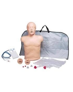 Yetişkin Yarım Beden CPR Eğitim Mankeni, Işıklı Kontrol Panelli