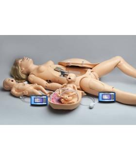 NOELLE® Anne ve Yenidoğan Doğum Simülatörü PEDI Blue® Teknoloji