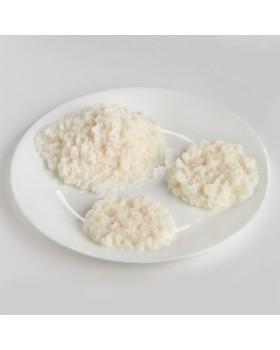 Pirinç Besin Replikası - Beyaz - Pişmiş