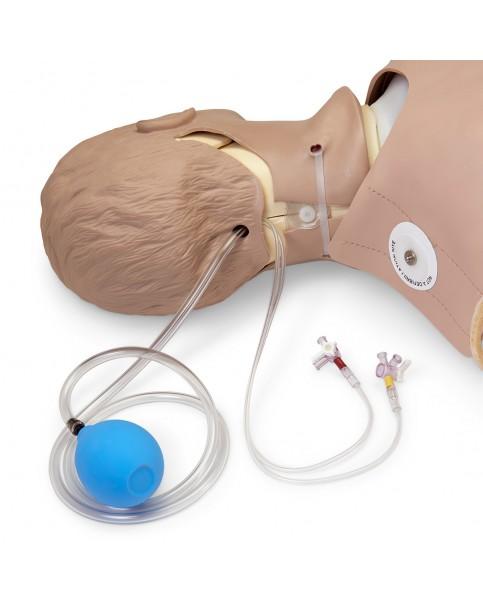 Yetişkin İleri Yaşam Destek ve Oskültasyon Mankeni, CPR Metrix ve iPad®